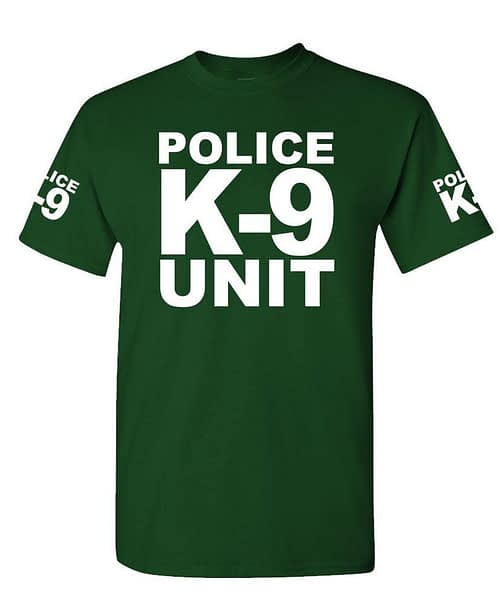 K-9 UNIT Police – Unisex Cotton T-Shirt Tee Shirt Police [tag]