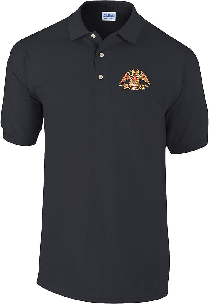 Scottish Rite Polo Golf Shirt Free Customization Freemason [tag]