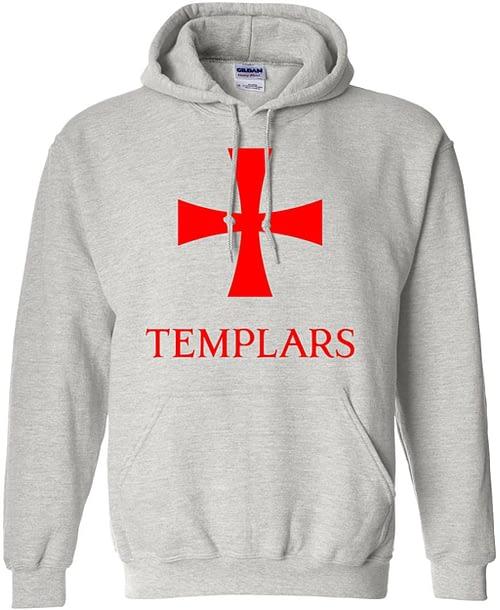 Knights Templar Hoodie Pullover Sweatshirt Home [tag]