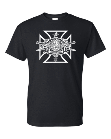 Knights Templar Swords Seal T Shirt Home Crossed Swords