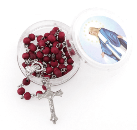 Our Lady of Grace Rose Scented Rosary Home [tag]