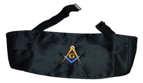 Mason Blue Lodge Cummerbund Home [tag]