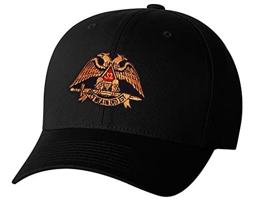 Scottish Rite 32nd Degree Flex Fit Hat Hats Masonic