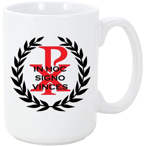 In Hoc Signo Vinces Chi Rho Coffee Mug Coffee Mugs In Hoc Signo Vinces Chi Rho Coffee Mug