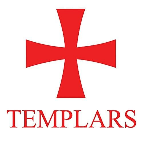 Knights Templar Auto Decal 4 Inch Home [tag]