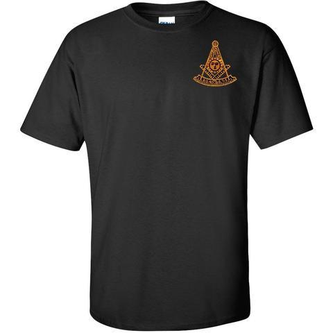 Past Master T Shirt Embroidered Freemason Master Mason