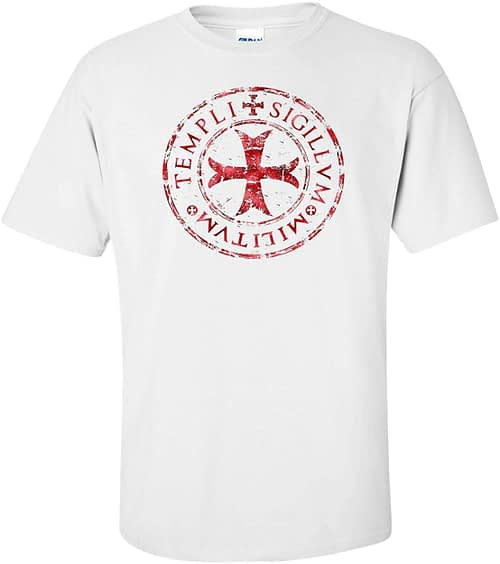 Logoz USA Knights Templar T Shirt Templi Sigillvm Militvm Home [tag]