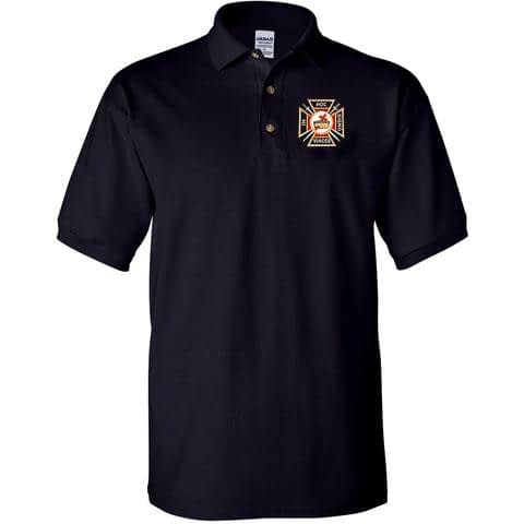Knight Templar Polo Golf Shirt Golf Shirts [tag]
