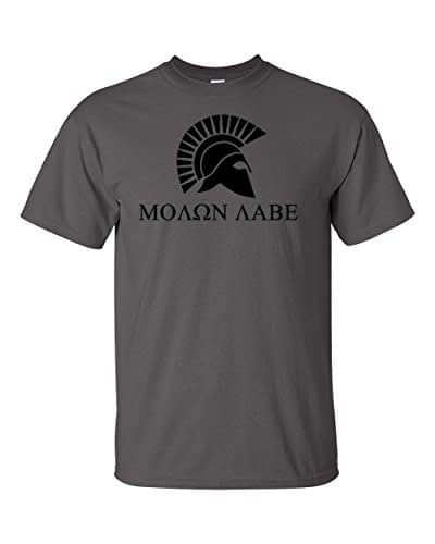 Molon Labe T Shirt Home [tag]