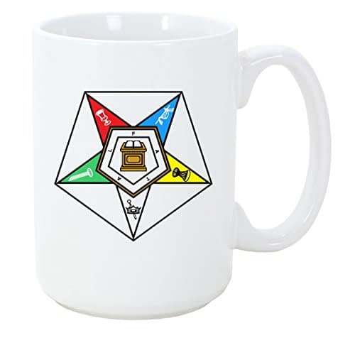 Logoz USA – Order of the Eastern Star Masonic Coffee Mug OES Coffee Mugs [tag]