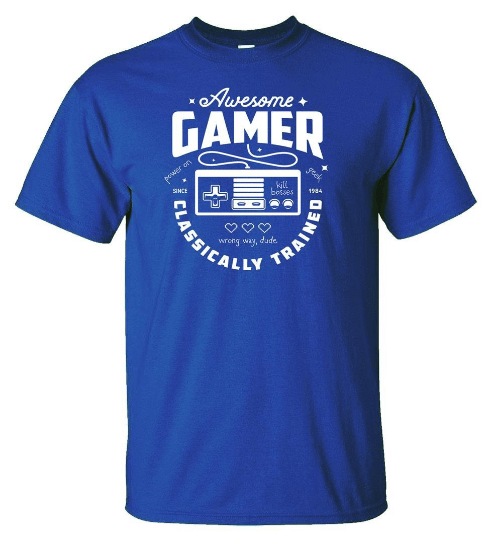 Awesome Gamer Classically Trained Home [tag]