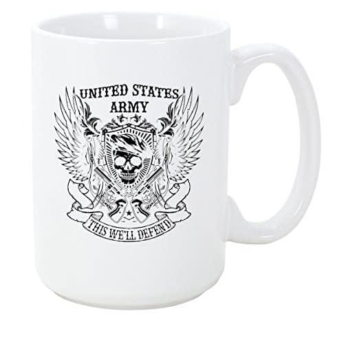 United States Army Coffee Mug Military [tag]