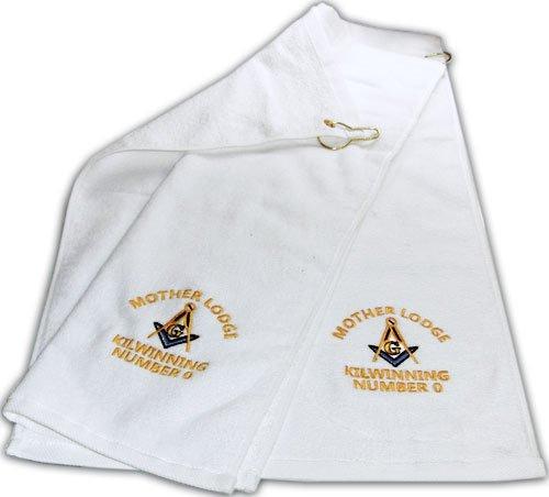 Mason Golf Towel Freemason Masonic [category] [tag]