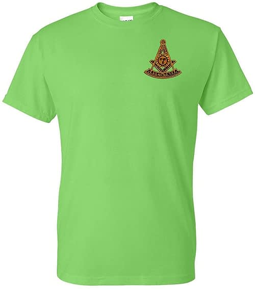 Past Master Embroidered T Shirt Masonic Home [tag]