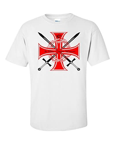 Knights Templar In Hoc Sign Vinces T Shirt Home [tag]