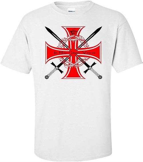 Knights Templar In Hoc Sign Vinces T Shirt Home t shirt