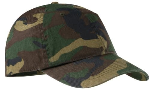 Port Authority Fashionable Camouflage Twill Cap Home [tag]