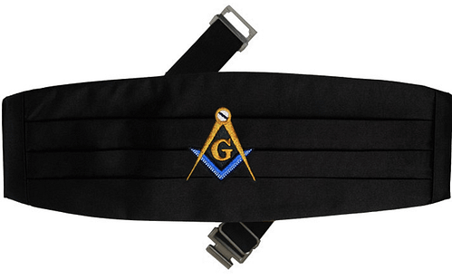 Mason Cummerbund Masonic Formal Wear Freemason [tag]
