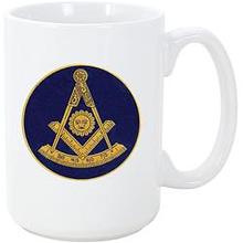 Past Master Mason Coffee Mug Coffee Mugs Blue Lodge