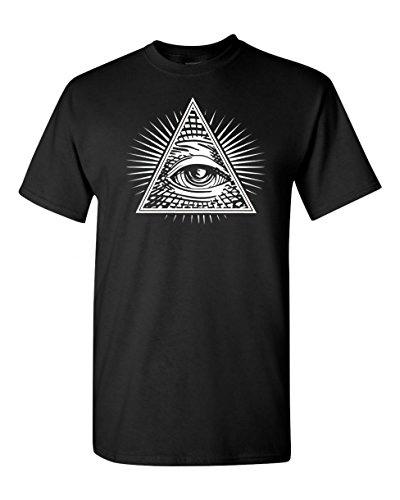 Eye of Providence – All Seeing Eye Men's T-Shirt Freemason [tag]