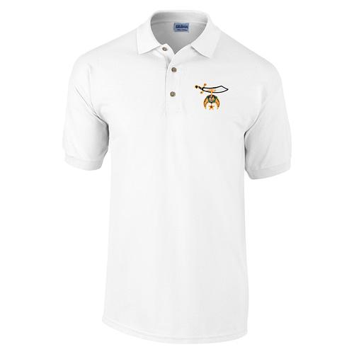 Shriners Polo Golf Shirt Freemason [tag]