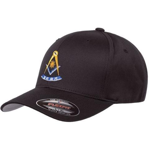 Mason Past Master Flex Fit Hat Freemason [tag]
