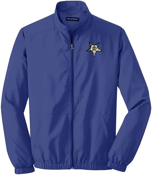 Order of The Eastern Star Jacket OES Windbreaker Eastern Star Eastern Star