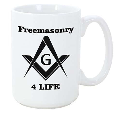 Logoz USA – Mason Coffee Mug Freemason 4 Life Coffee Mugs [tag]