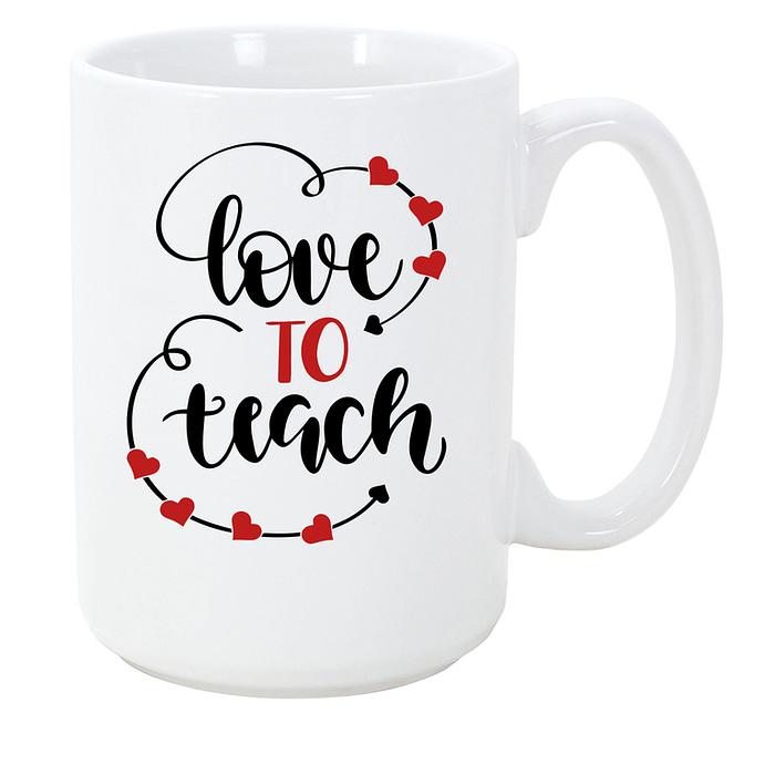 Live Love Teach Coffee Mug For Teachers Coffee Mugs [tag]