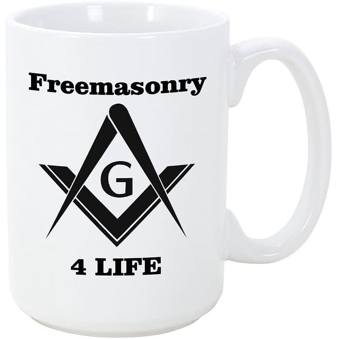 Freemason 4 Life Coffee Mug Coffee Mugs Freemasonry for life