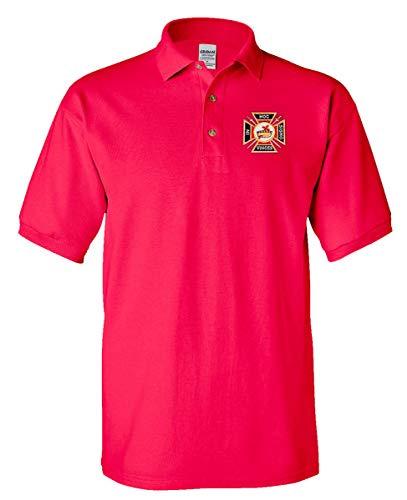 Knights Templar Masonic Personalized Polo Golf Shirt Golf Shirts IN HOC SIGNO VINCES