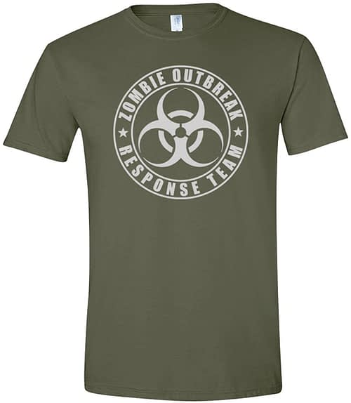 Zombie Outbreak Response Team Shirt Home [tag]