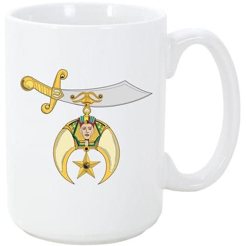 Shriners Masonic Coffee Mug Coffee Mugs Customized Shriners Gifts
