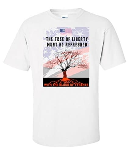Tree of Liberty T Shirt USA Home [tag]