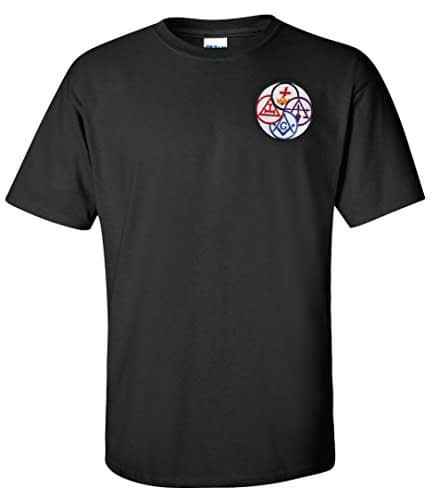 York Rite T Shirt Embroidered Masonic Home [tag]