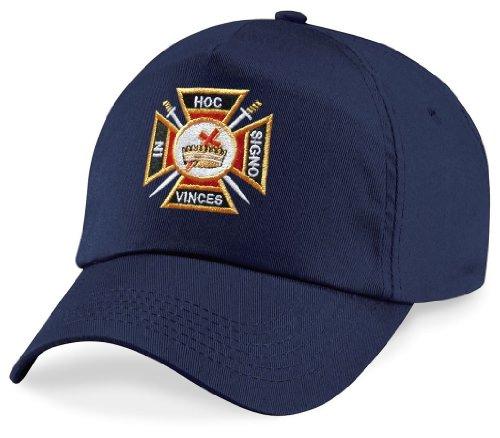 Logoz USA Knights Templar Masonic Hat Navy [category] [tag]