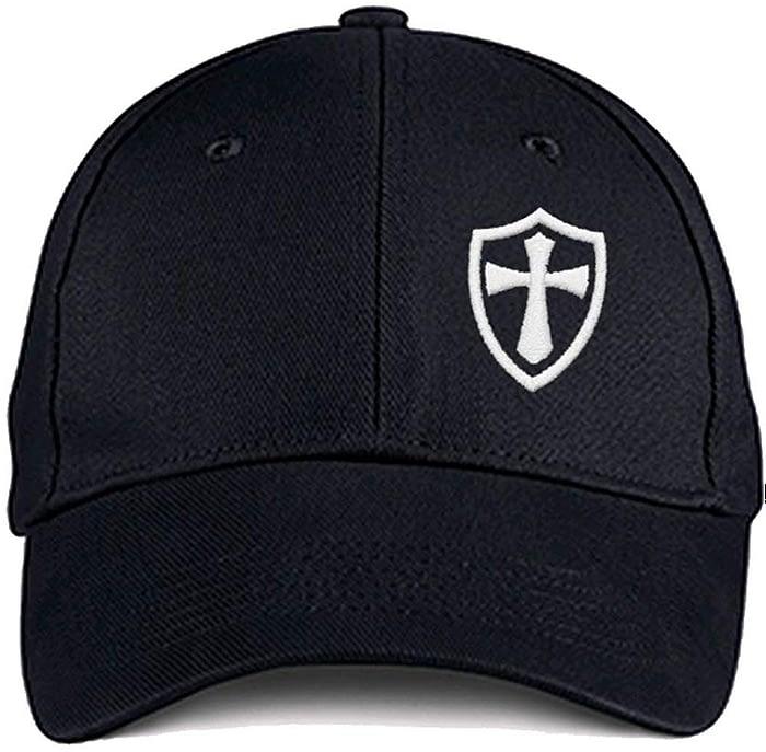 Crusader Knights Templar Ball Cap Adjustable Closure Hats [tag]